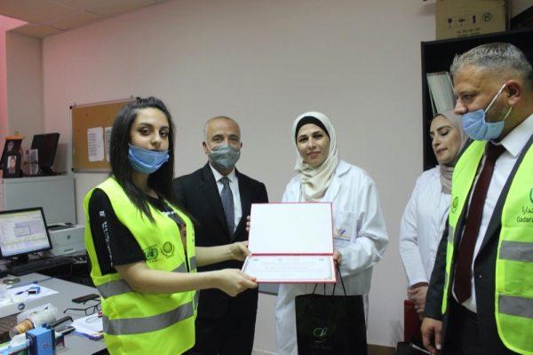 مبادرة جدارا تكرم خط الدفاع الأول من الكوادر الطبية والتمريضية