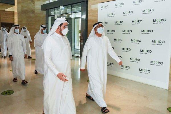 وفد من بلدية دبي يزور مركز البيانات للحلول المتكاملة (مورو)