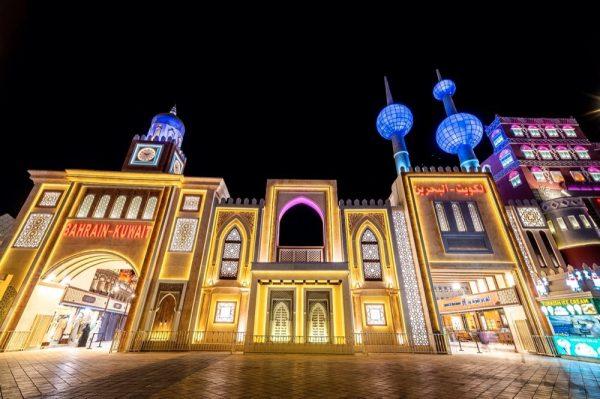 تجارب فريدة ومنتجات متنوعة في جناح الكويت والبحرين في القرية العالمية