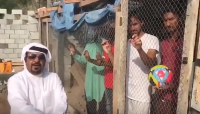 emirati birdcage viral