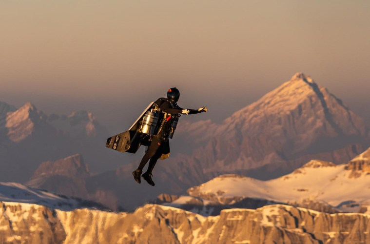 Jetman Italy Dolomites