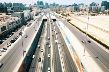 Abu Dhabi toll gate October Salik