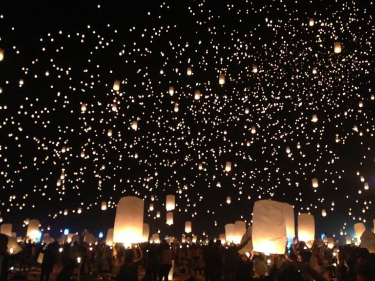 RiSE festival Dubai Lantern