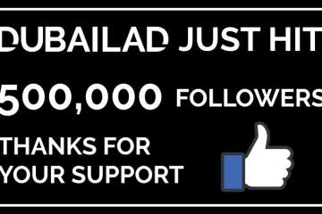 dubailad 500,000 followers