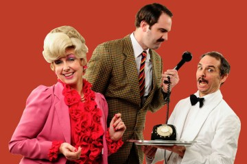 Fawlty Towers Dining Experience Interactive Show QE2 Dubai Ship Theatre Sybil Basil Manuel