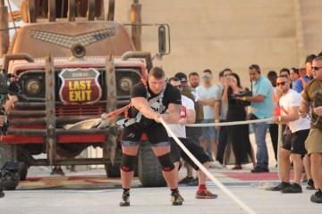 The World's Ultimate Strongman Dubai October Meydan Grandstand