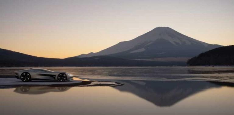 Jaguar Gran Turismo Sport Concept Car EV Vision