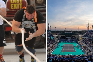 UAE Sporting Events Season Abu Dhabi Formula 1 Mubadala World's Ultimate Strongman WUS Dubai Rugby 7s Dubai Muscle Show