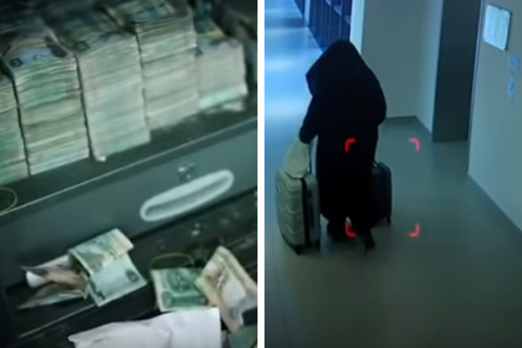 Dubai Police AED 3 million Crime Women's Clothing Burqa Naqab Abaya City Walk European