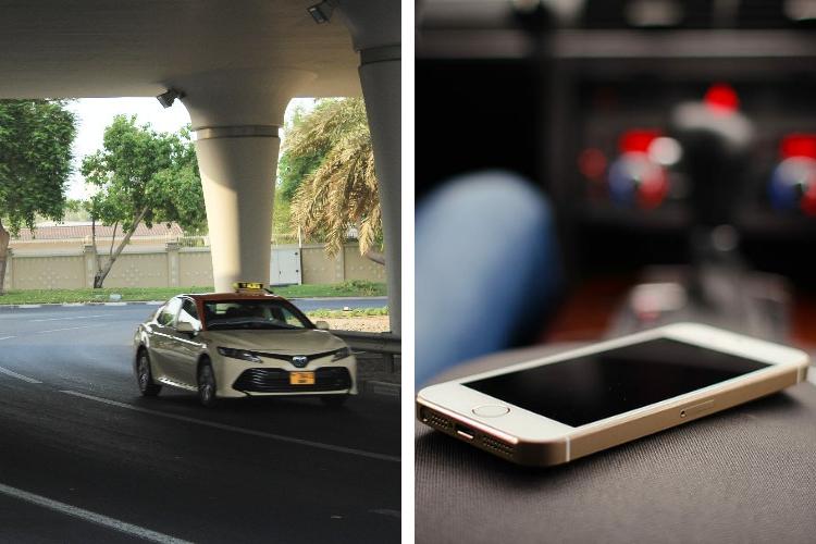 Dubai Police Cab Cell Phone Return France French Tourist International Airport