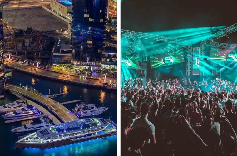Dubai Best New Year's Eve Parties Dixon Soho Garden Lotus Mega Yacht White Beach Drai's Dubai