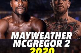 Mayweather takes on McGregor 2020