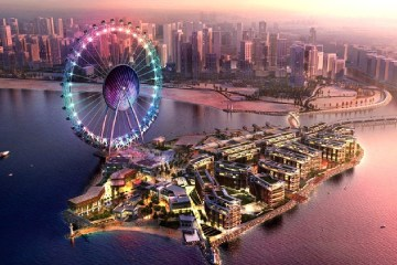 Dubai Mega Projects 2020 Bluewater Island