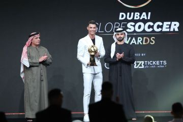 Ronaldo Dubai Gold Card