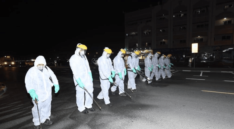 Dubai National Disinfection Programme