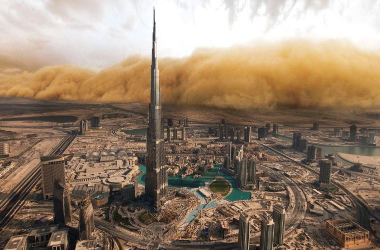 Sandstorms could be heading towards Dubai this weekend