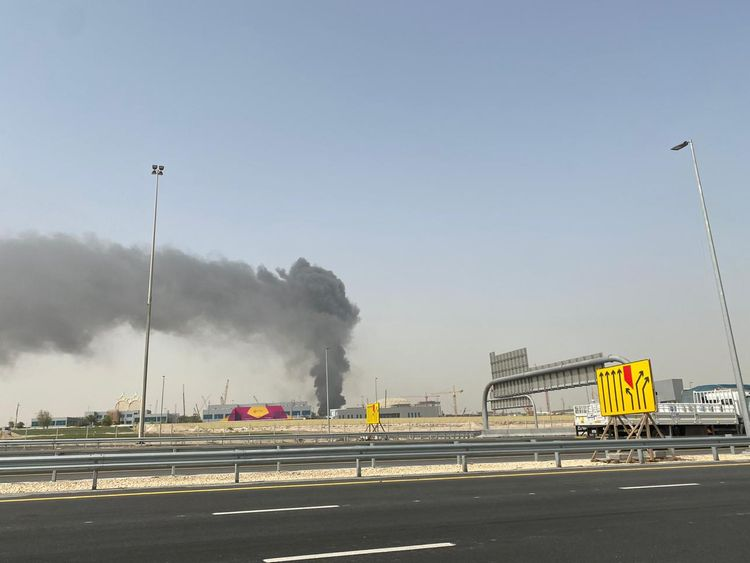 Fire breaks out at Expo 2020 Dubai site