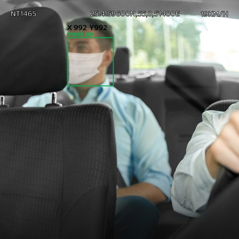 Dubai Taxis now using AI to tell if you're wearing a face mask