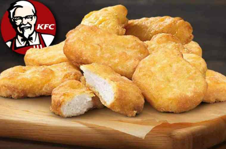 Would you try a chicken-free 3D printed chicken nugget from KFC?