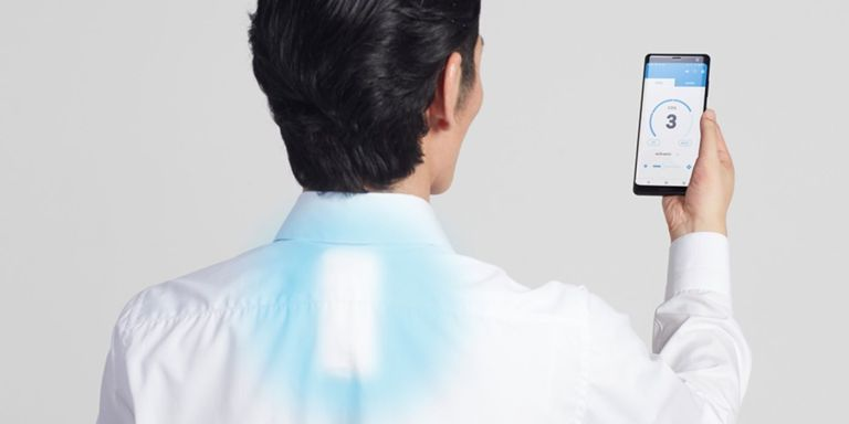 Sony's new wearable air conditioning device could be our summer saviour