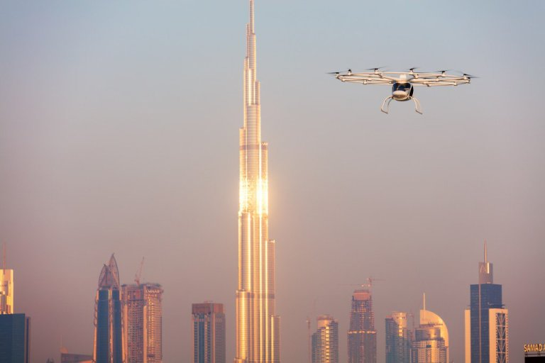 Sky lanes set up in Dubai for flying taxi service