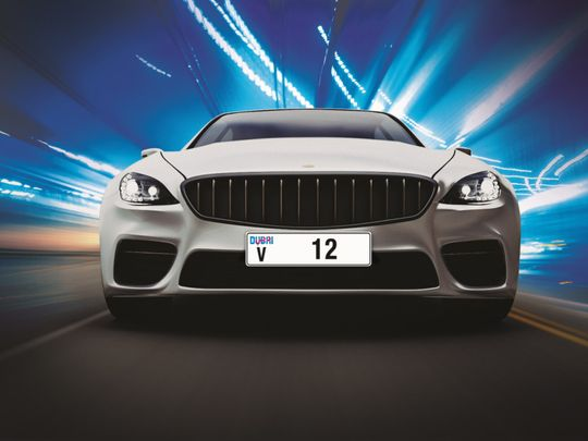 Dubai number plate license makes over AED36 million
