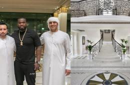 Check out 50 Cent's incredible Dubai hotel suite