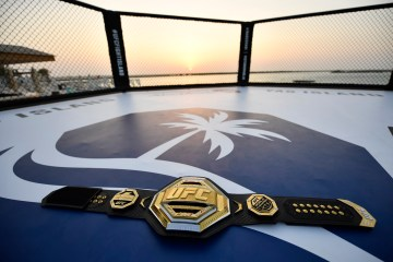 UFC returns to Abu Dhabi's Fight Island