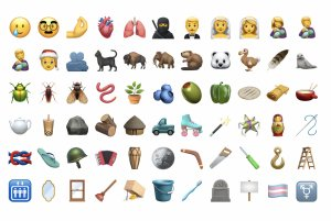 New Apple emojis