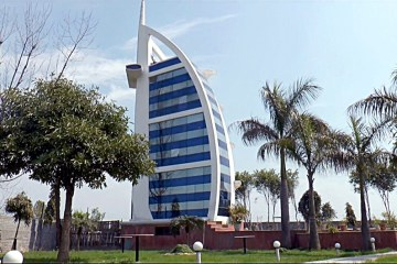 Iconic Burj Al Arab design gets copied by a house in India