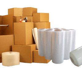 packing boxes delivery