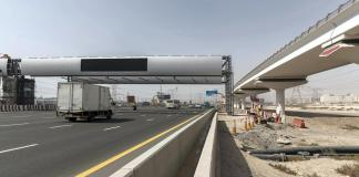 Dubai's new Salik gate begins charging drivers on Wednesday
