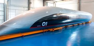 Revealed: the Hyperloop capsule planned for the UAE