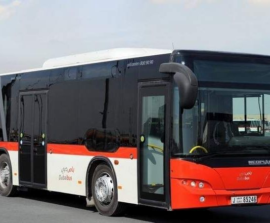 First RTA bus launched to connect Dubai and Al Ain