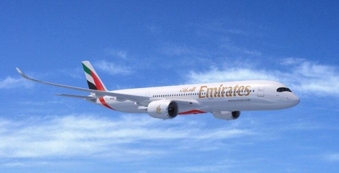Emirates Airline orders 50 A350 XWBs at Dubai Airshow 2019