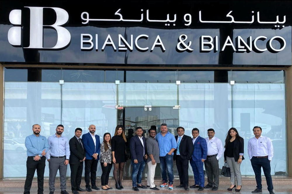 Aimed at revitalizing the residential & commercial real estate fit-out market in UAE Bianca & Bianco's first showroom on Sheikh Zayed Road will showcase designer flooring, bath ensembles & kitchen solutions at modest pricing