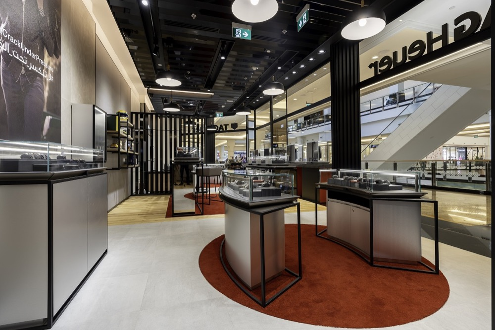 TAG HEUER OPENS BOUTIQUE AT MALL OF THE EMIRATES