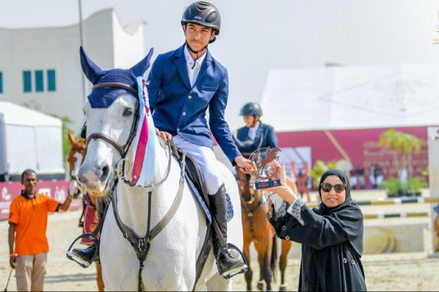 7th FBMA International Show Jumping Cup kicks off at Al Forsan International Sports Resort