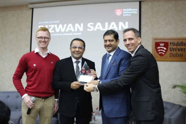 Danube Group's Founder and Chairman shares his 'Rags to Riches' inspirational success story at Middlesex University Dubai