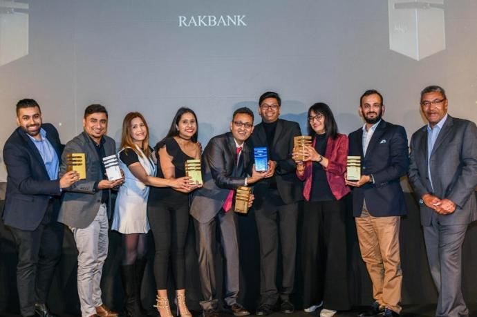 RAKBANK Paints MMA MENA GoldWins 5 Gold, 1 Silver and 2 Industry Awards for RAKfoodie Campaign
