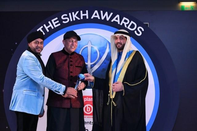 BalvinderSahni of RSG GroupWins Businessman of The Year Award AtThe 10th Sikh Awards in Dubai