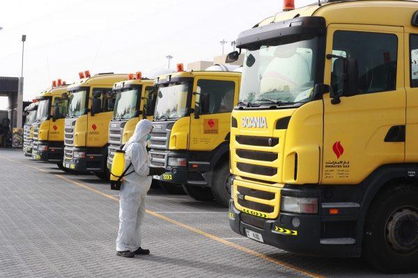 """""""غاز الإمارات"""" تطبّق مجموعة جديدة من الإجراءات لمكافحة """"كورونا"""""""