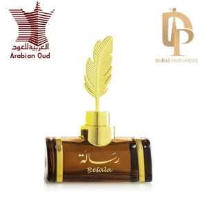 Resala de Arabian Oud Avec Logo Marque et Dubai Parfumerie
