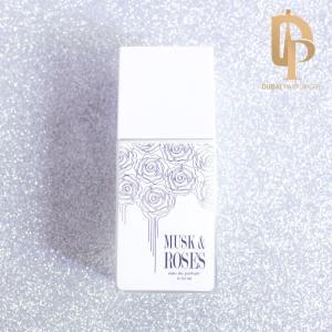 Parfum Musk & Roses de la marque Arabian Oud par Dubai Parfumerie - Sur Fond