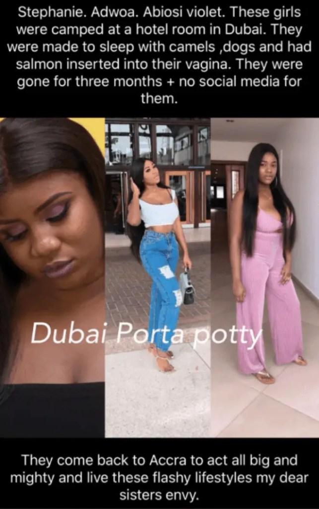 Dubai porta potty