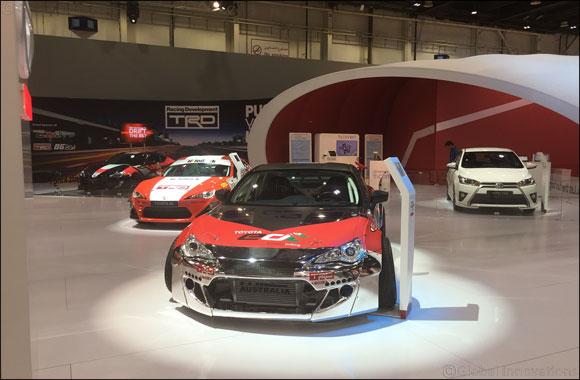 toyota yaris trd uae sportivo mt al futtaim motors ushers the future of mobility in at dubai international motor show