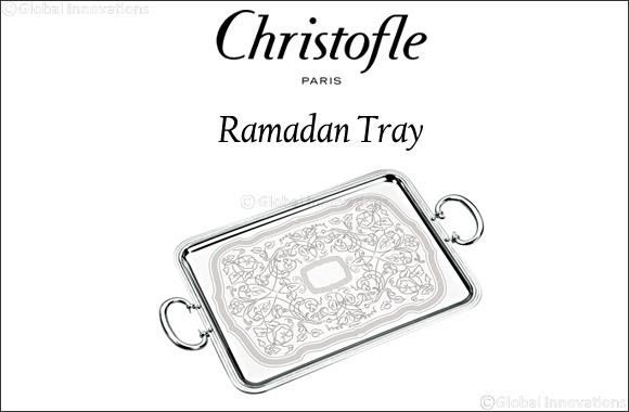 'Ramadan Tray' by Christofle