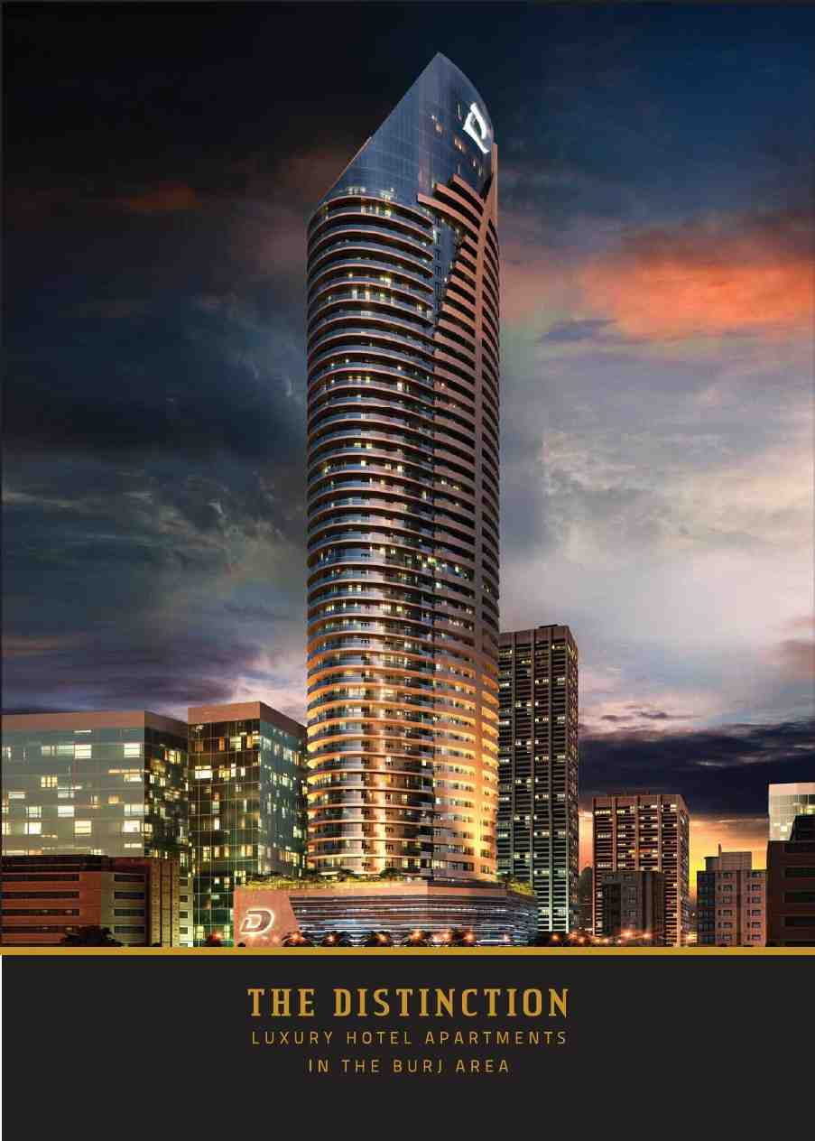 THE DISTINCTION BY DAMAC Deluxe Hotel Apartments Downtown
