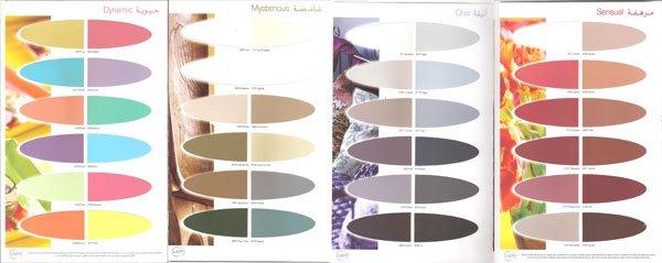 jotun lady color card