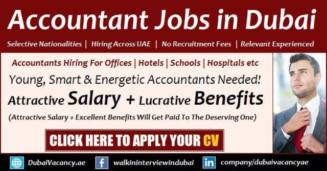 Accountant Jobs in Dubai
